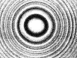 Anillos de difraccion de una abertura circular