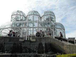 Palçacio de Cristal no Jardim Botânico, Curitiba, PR