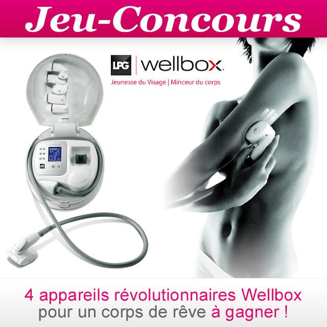 4 appareils Wellbox anti-cellulite à gagner