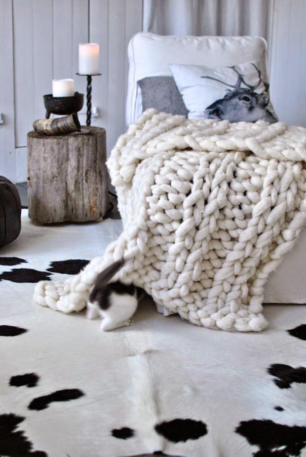 schäslong ullpläd kohud trästubbe kattunge