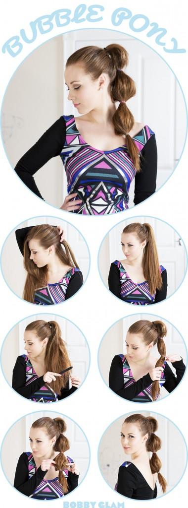 Bellos peinados de cola de caballo | Ideas y Moda