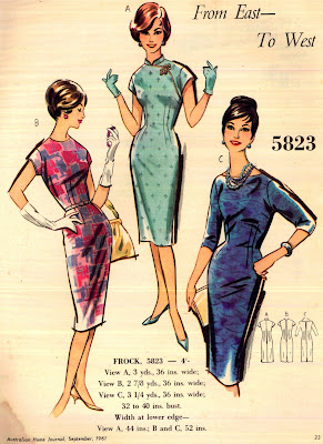 1961 Australian Home Journal Fashion Magazine