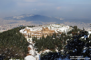 Aydos Kalesi Sultanbeyli Kış