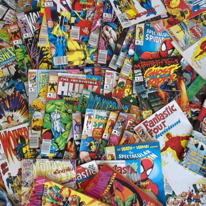 หนังสือการ์ตูนMarvelฉบับภาษาไทย