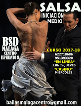 SALSA INICIACIÓN EN LINEA CURSO 2017-18 EN BSD MÁLAGA CENTRO.