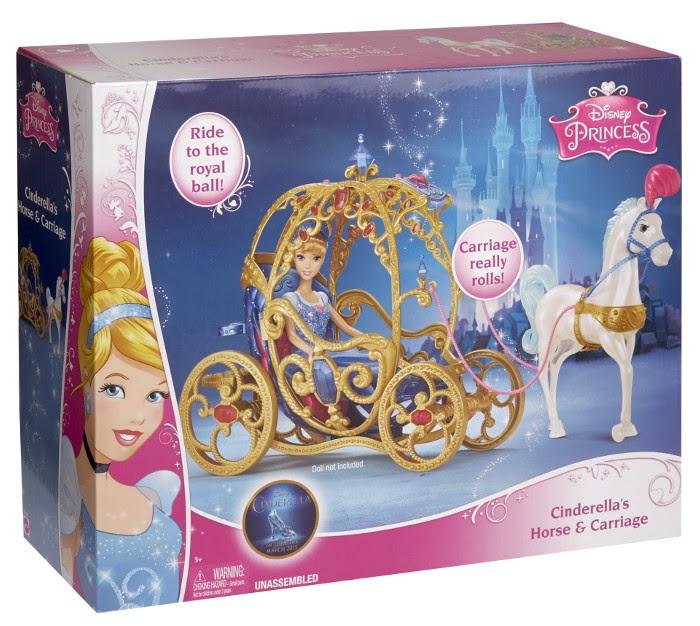 Libros y juguetes 1demagiaxfa juguetes princesas - Carroza cenicienta juguete ...