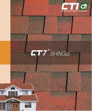 Harga Atap CTI CT7 Shingles Bitumen