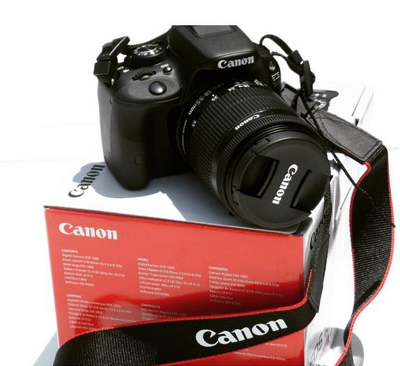 reflex canon eos 100d