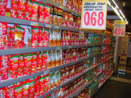 Mercado de tomate