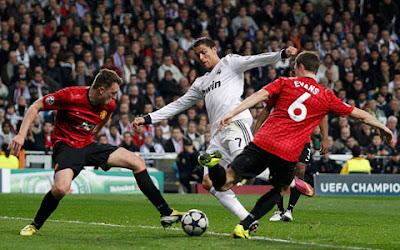 Hasil Skor Akhir Real Madrid VS Manchester United (MU)