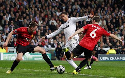 Hasil Skor Akhir Real Madrid VS Manchester United (MU)