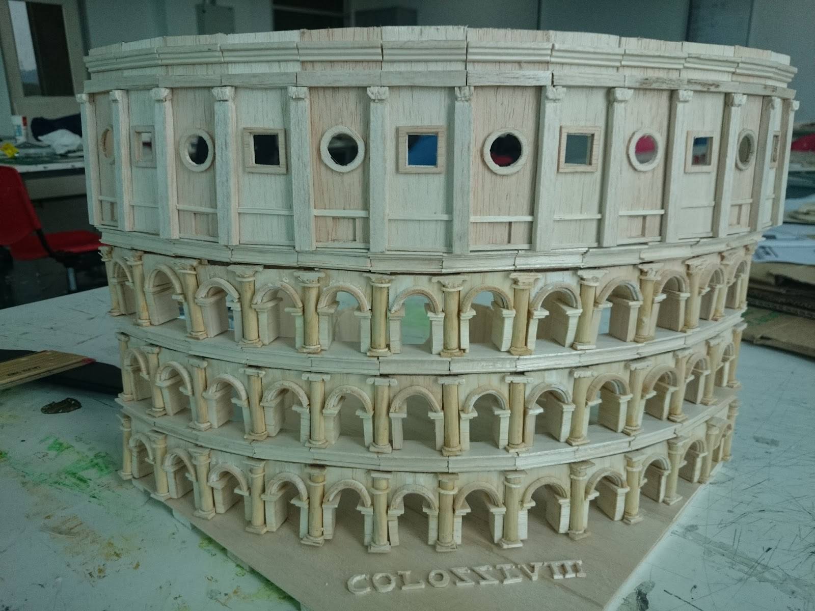 an analysis of the design of colosseum Come and see the world with your very own 3d-printed roman colosseum this completely detailed model that i created in cad catia and analyzed in netfabb basics can complete any desk space, or counter top, to bring a piece of italy to your house.