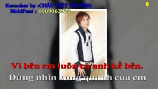 Nô Lệ Tình Yêu (Karaoke) - Châu Việt Trường