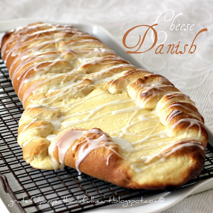 ... dough recipe, I filled this braided bread with cream cheese and a hint