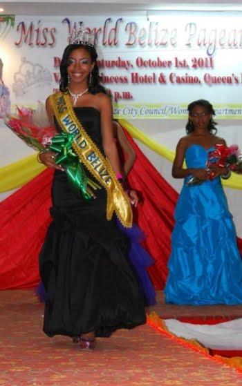 miss belize 2011 winner kadejah kenifah tunn