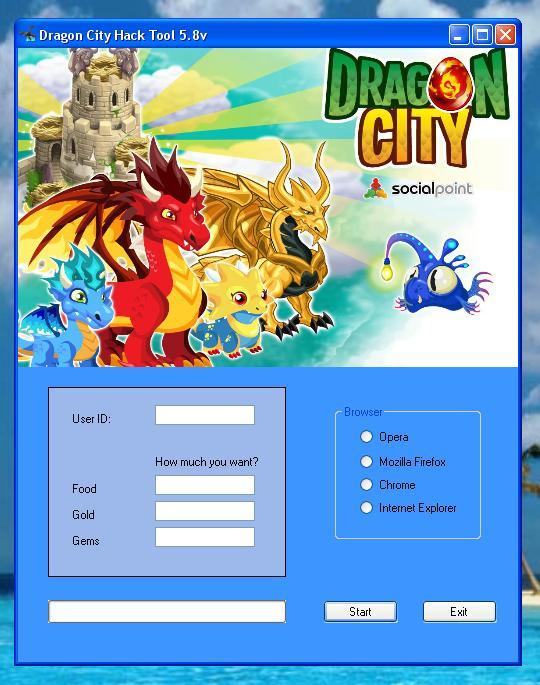 Dragon City Hack Tool 5.8v