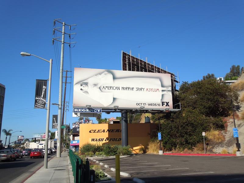 American Horror Story Asylum billboard
