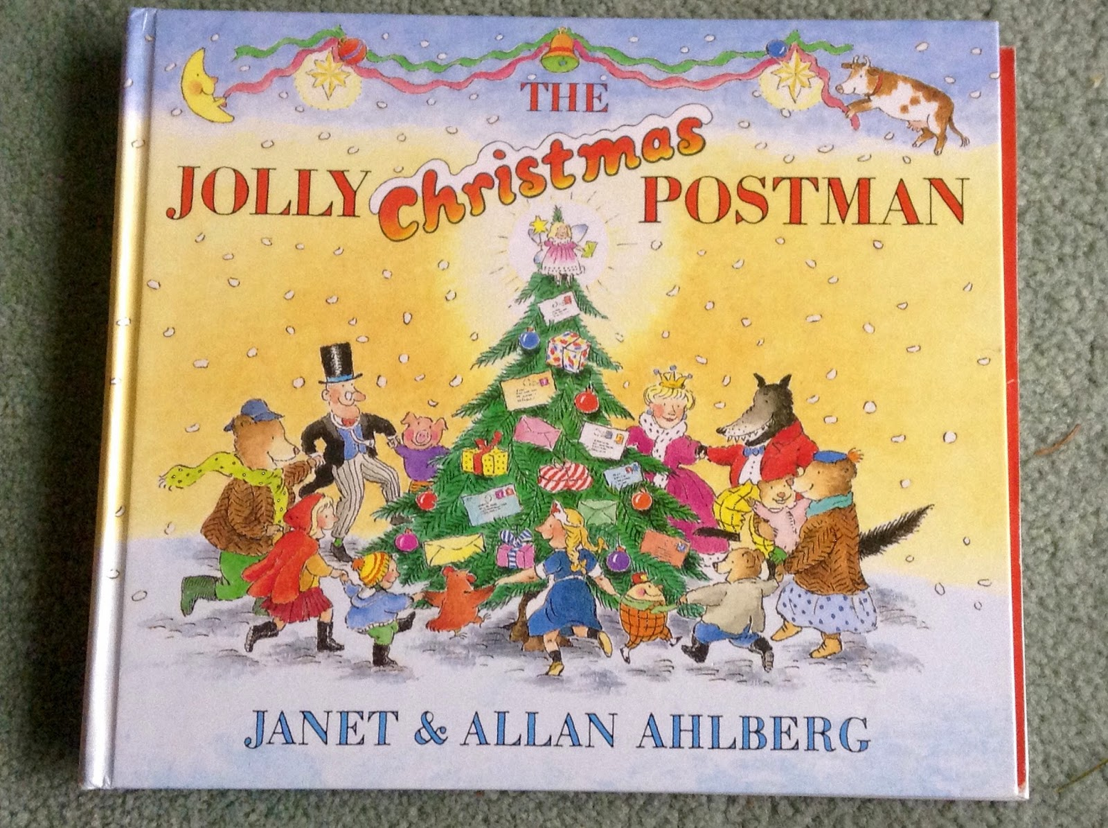 The Well-Read Sleepyhead: The Jolly Christmas Postman by Janet and ...
