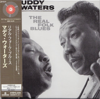 MUDDY WATERS - THE REAL FOLK BLUES (CHESS 1965) Jap mastering cardboard sleeve