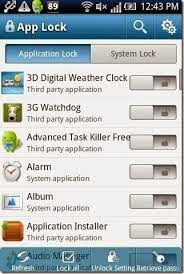 AppLock - Aplikasi Untuk Mengunci Aplikasi dan Game di Android