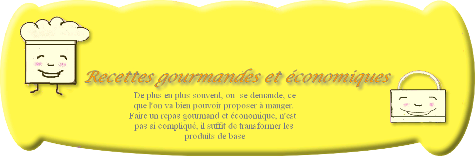 recettes gourmandes et conomiques