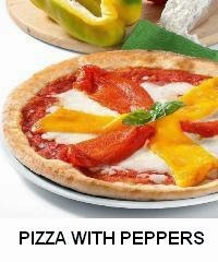 PIZZA WITH PEPPERS