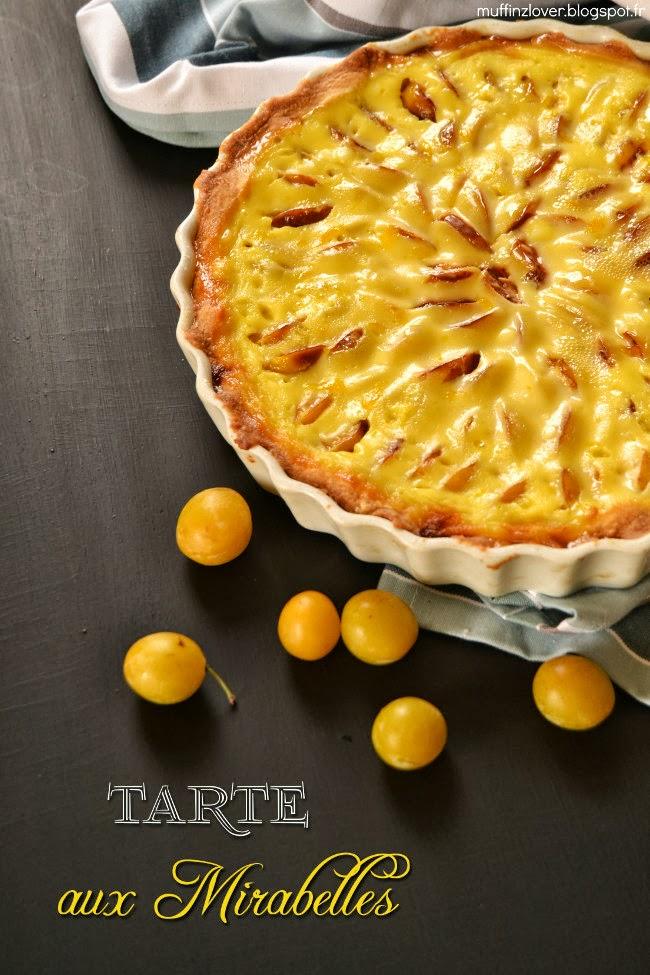 Ma nouvelle vie en picardie septmonts dessert de saison recette tarte aux mirabelles - Recette avec des mirabelles ...