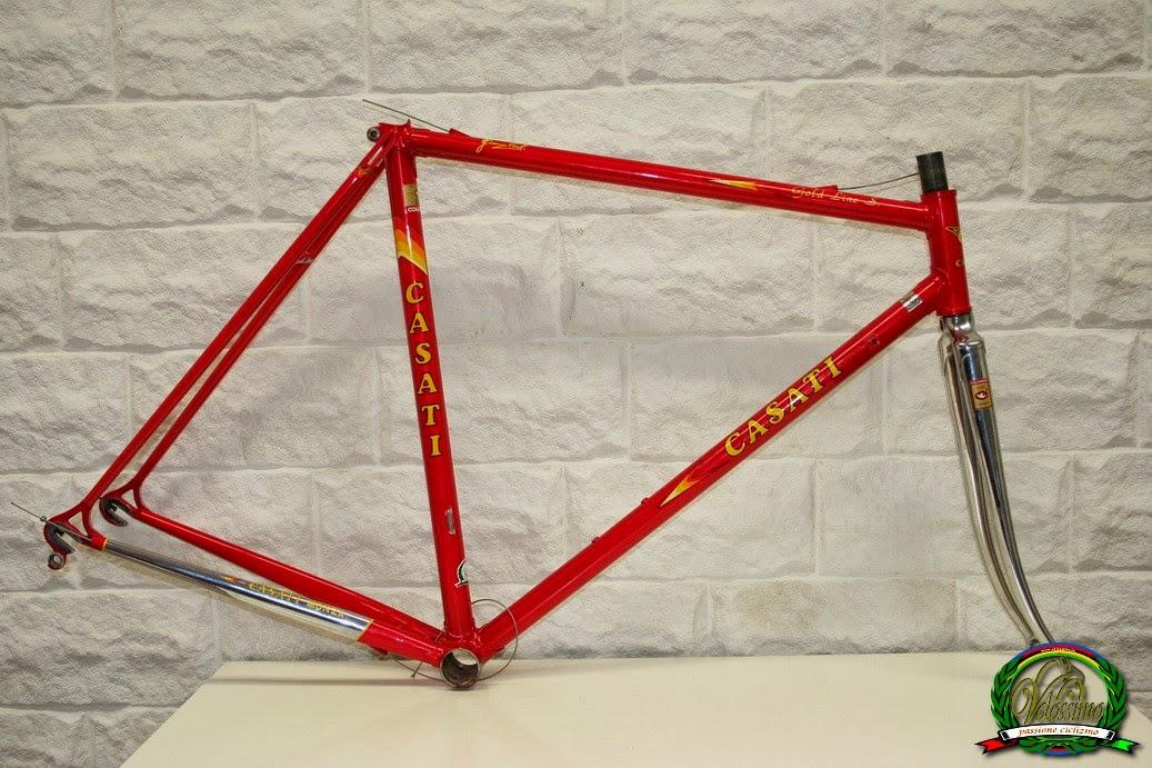 Velossimo: Casati Gold Line S ( Line d\'Oro ) Columbus SLX frame set