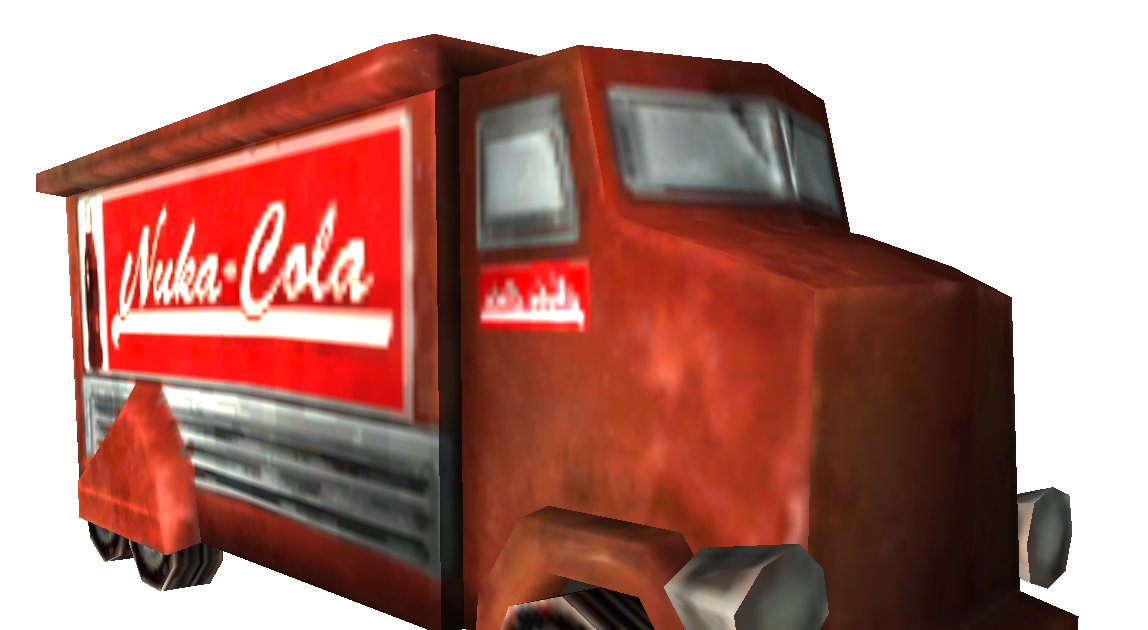 mtk 39 s card craft nuka cola truck from fallout 3 and nv. Black Bedroom Furniture Sets. Home Design Ideas