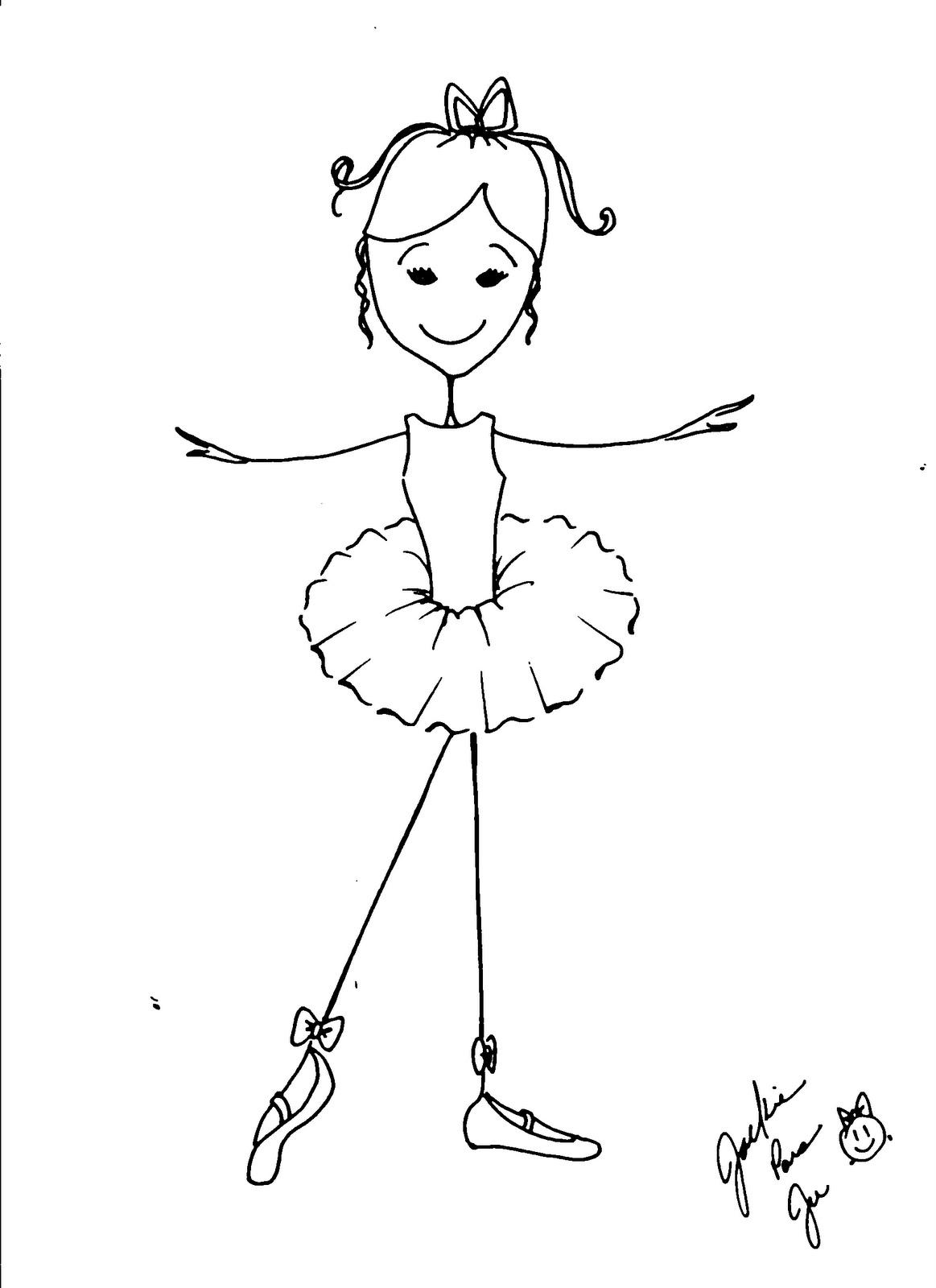 Dibujos Colorear Ballerina ~ Ideas Creativas Sobre Colorear