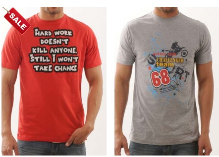 Get T-Shirt from Funk Tees at Rs. 99