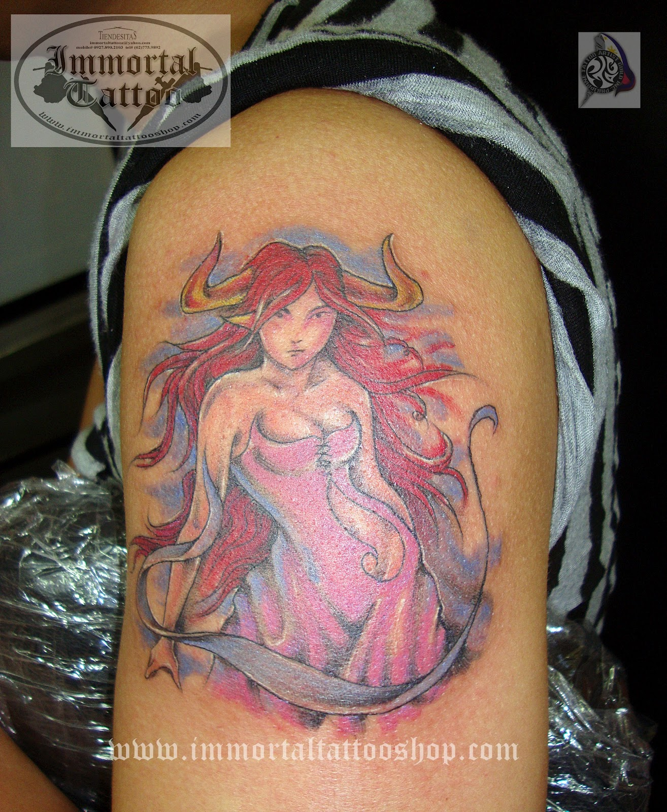 She devil pictures tattoos for She devil tattoo