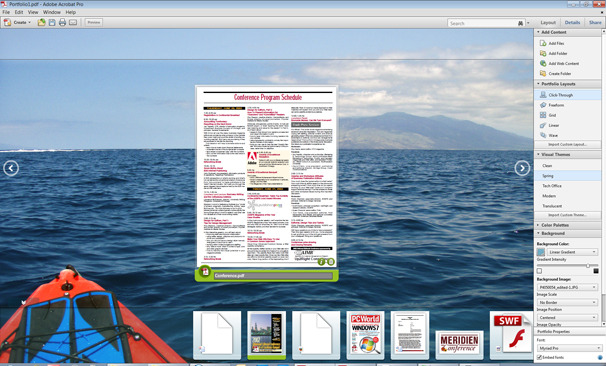 how to put multiple pdfs into one adobe reader x