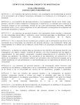 Estatutos Personal Docente y de Investigación ULA