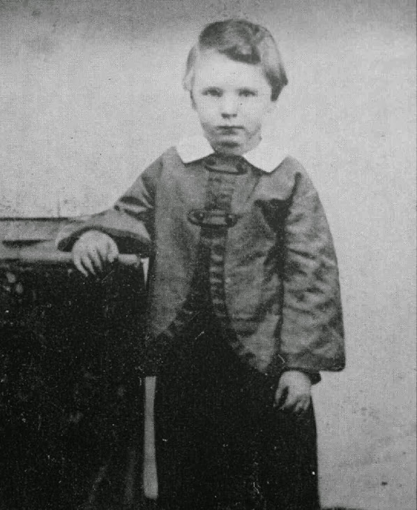 Abe's son Willie Lincoln. He died of typhoid