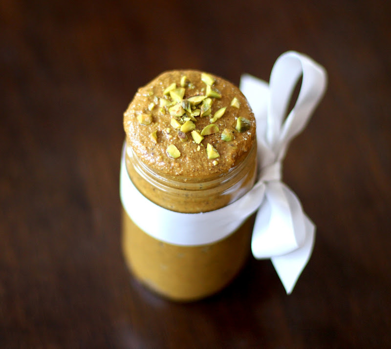Healthy Homemade Pistachio Butter