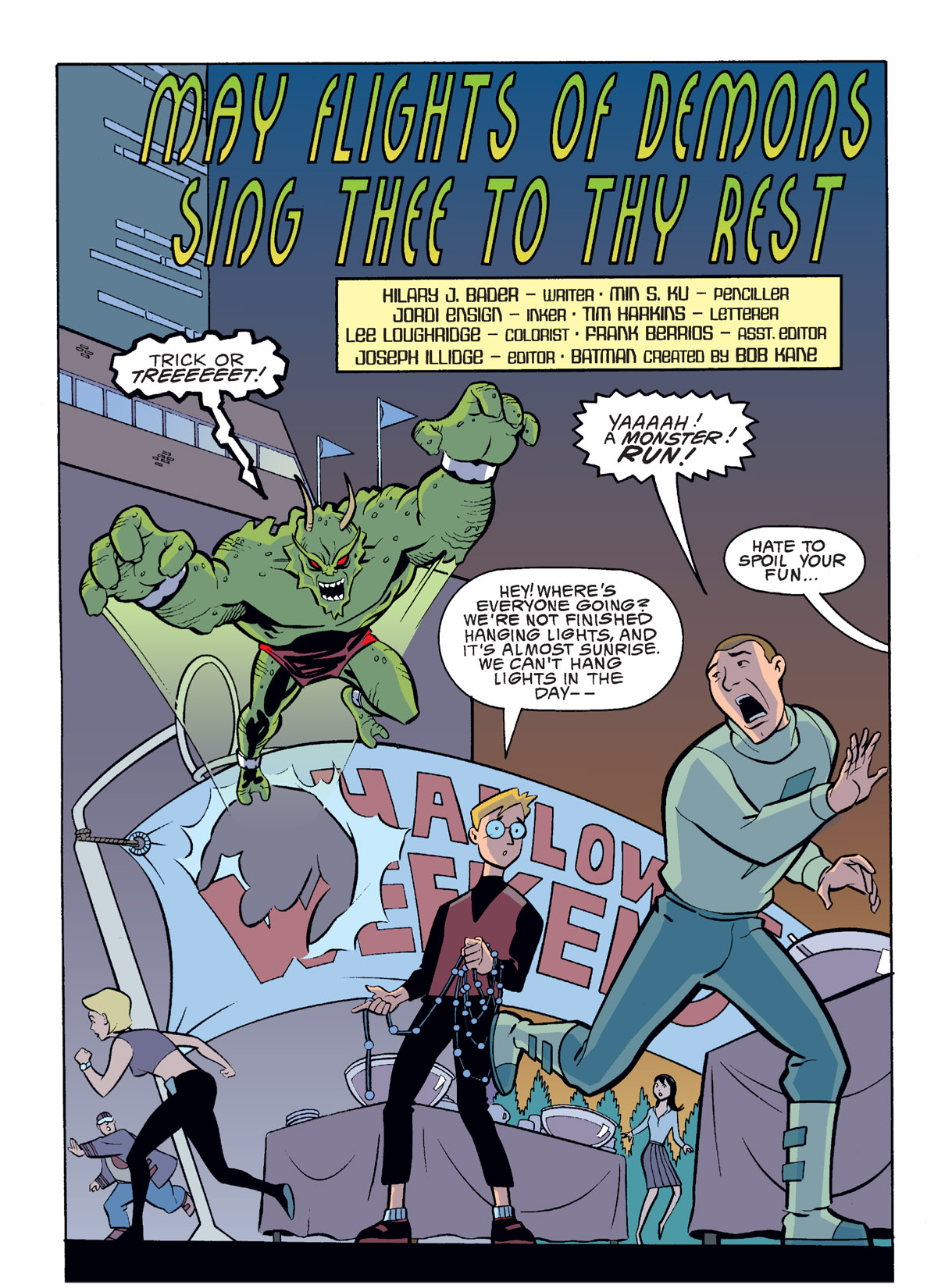 Batman Beyond [II] Issue #14 #14 - English 2