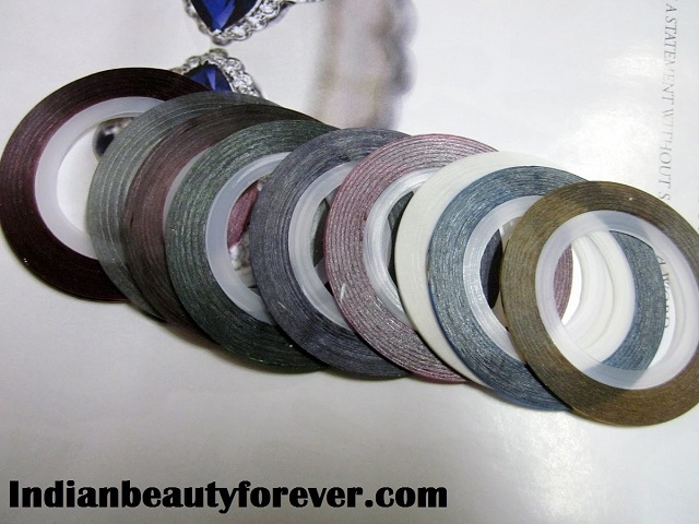Nail art Stripping tape Review