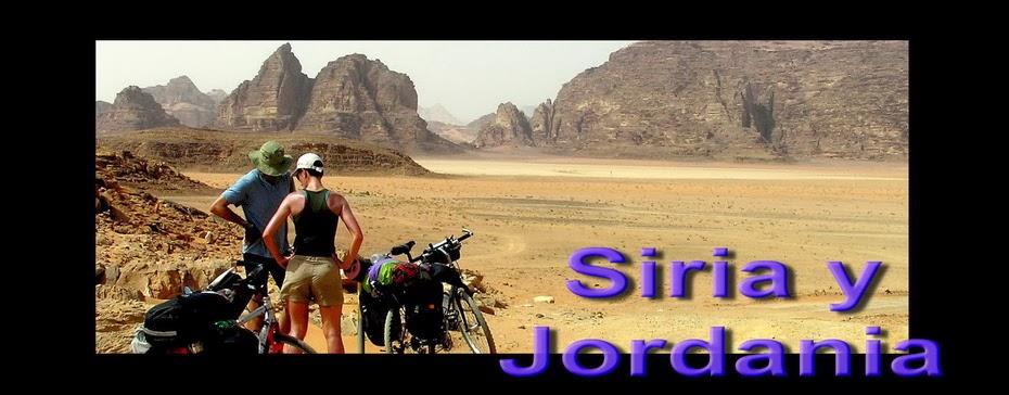 Siria y Jordania en bicicleta