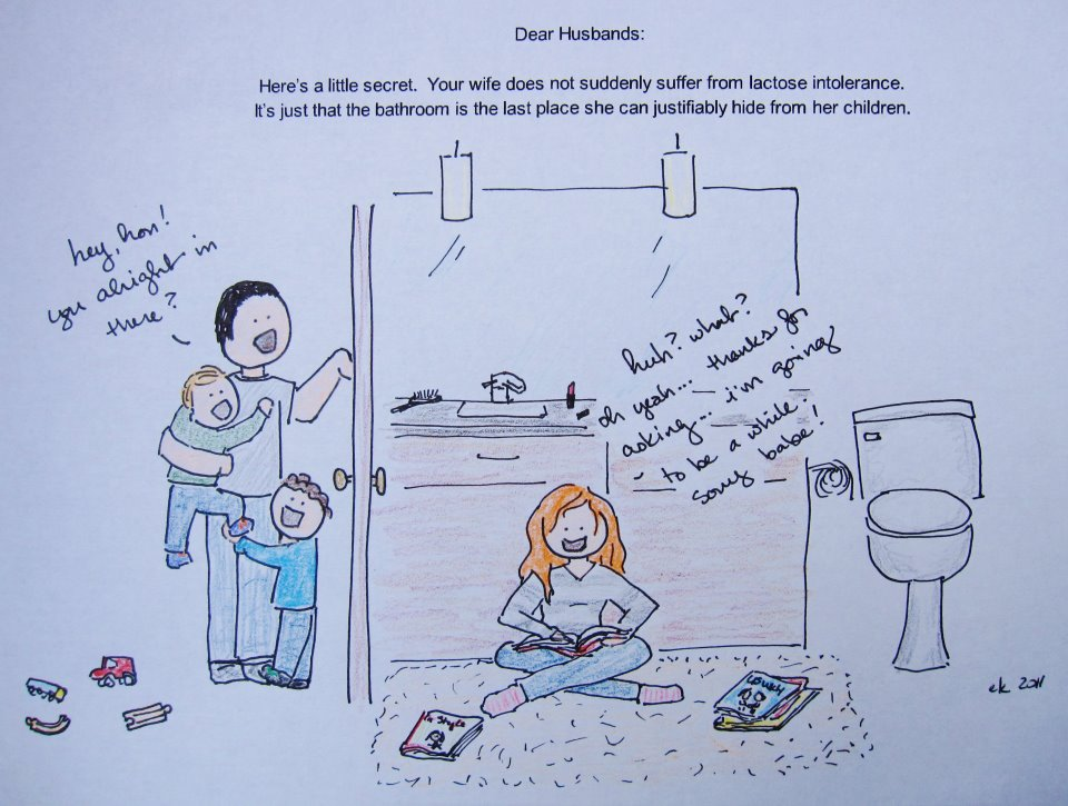 Bathroom Cartoon Cartoon 2 By Eryn Kurin