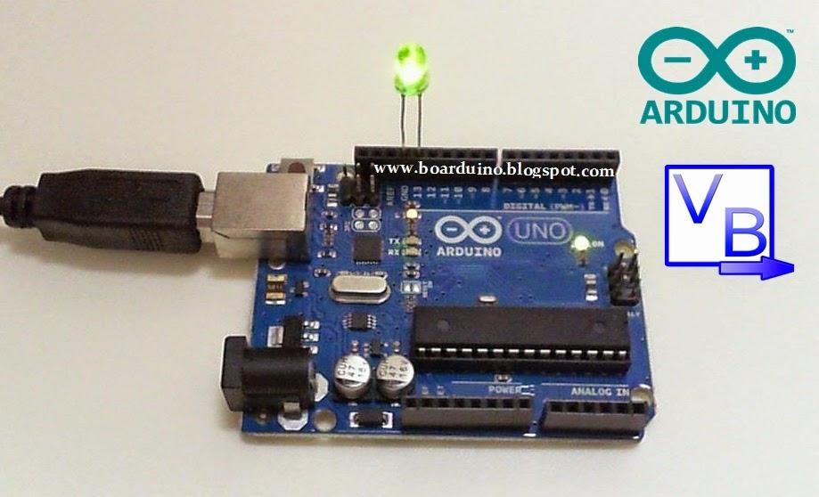 Menyalakan lampu dengan arduino dan visual basic test