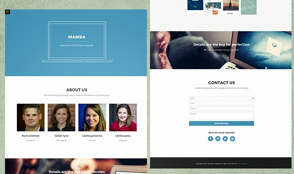 Download Free Responsive HTML5 CSS3 Website Templates
