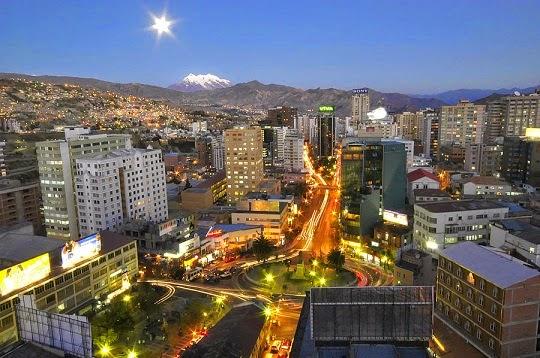 La Paz, ciudad maravilla