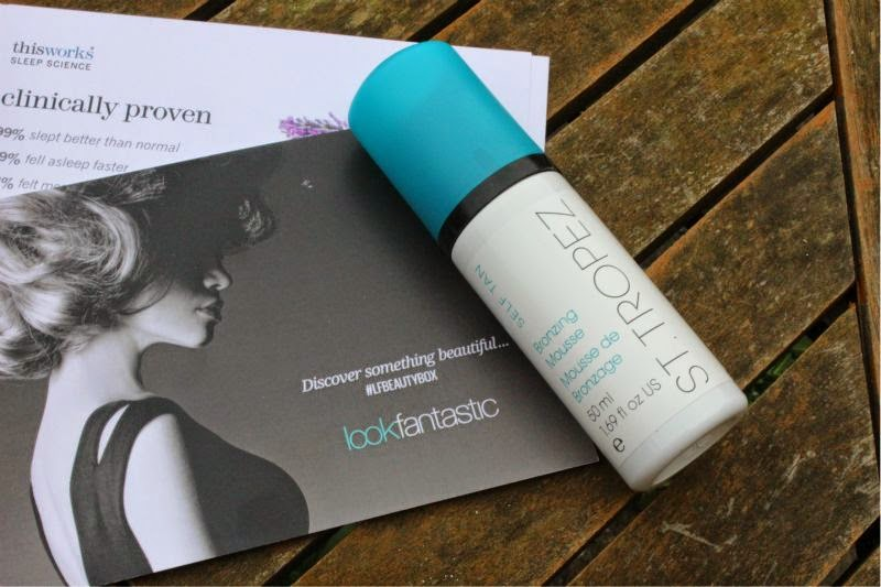Look Fantastic Beauty Box September 2014 Review Contents