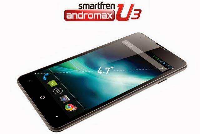 Smartfren+Andromax+U3,+Android+Dual+Sim+Harga+2,1+Jutaan Smartfren Andromax U3, Smartphone Dual Sim Harga 2,1 Jutaan