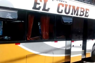 Sutran suspende a empresa El Cumbe