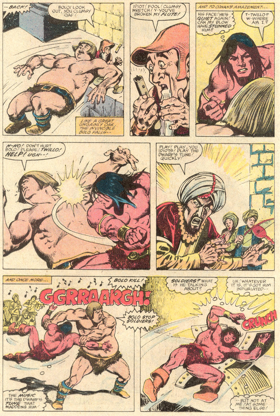 Conan the Barbarian (1970) Issue #137 #149 - English 19