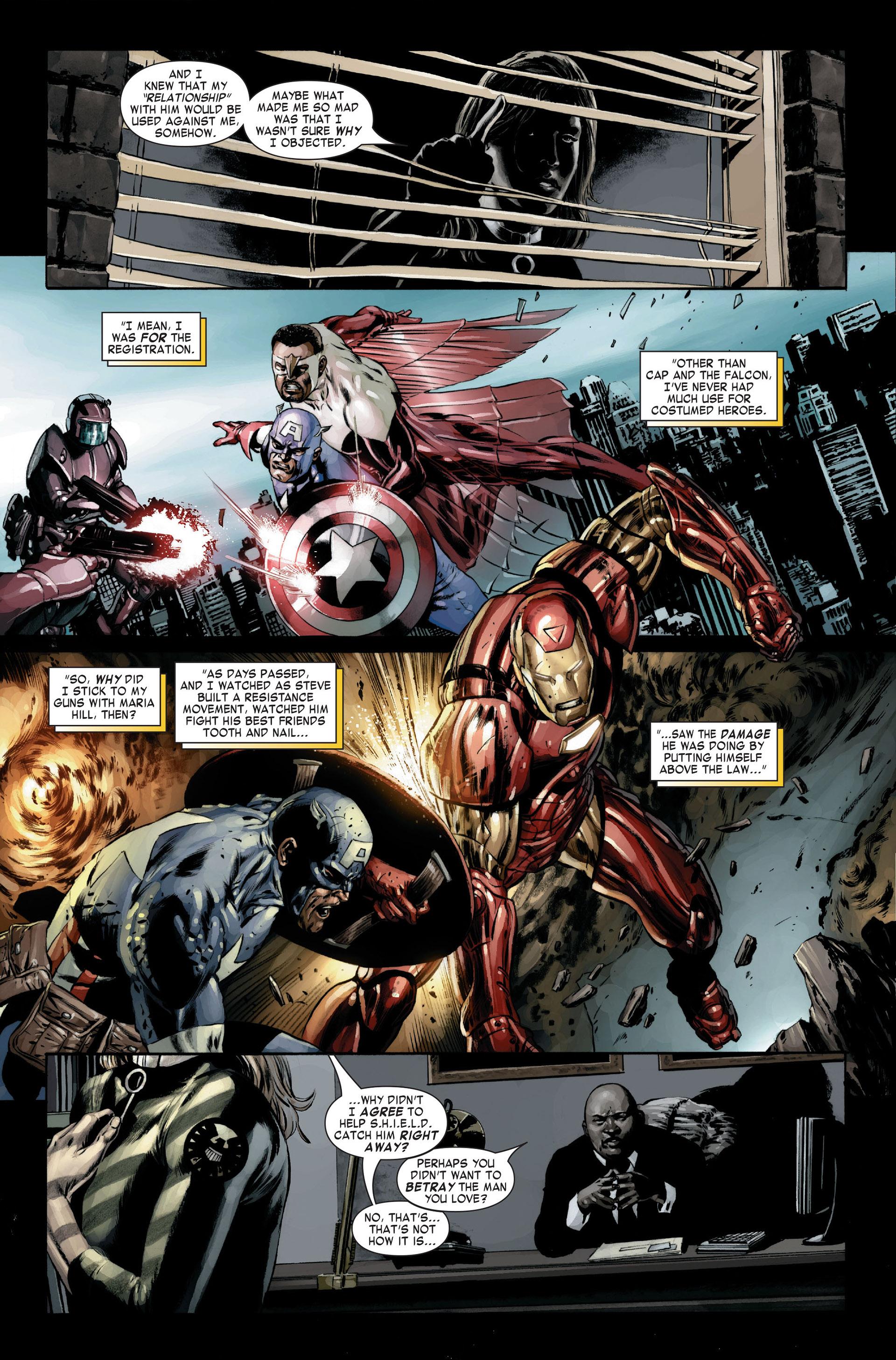Captain America (2005) Issue #22 #22 - English 8