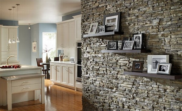 Decoraci n de interiores con piedra ideas para decorar for Ideas para disenar tu casa