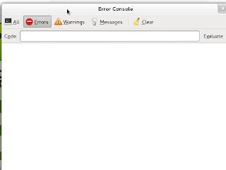 Javascript console window on Firefox